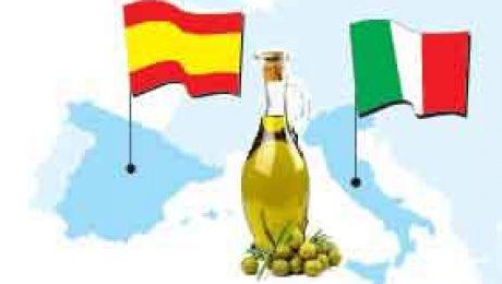 Aceite de oliva español frente al italiano